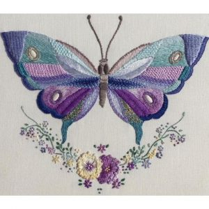 Blue and Lilac Butterfly