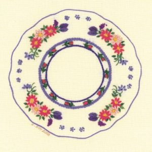 Little Plate of Flowers